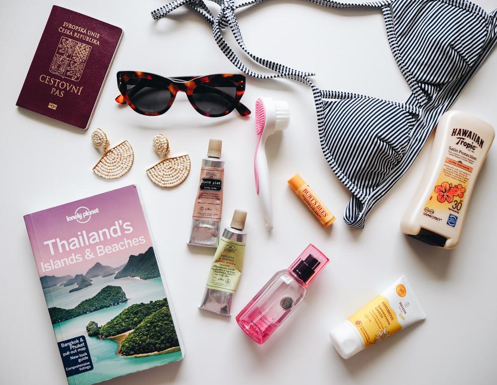 Kosmetika na letní dovolenou