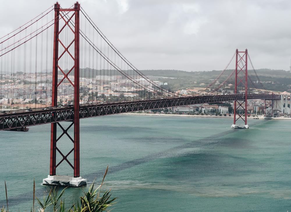 Most Ponte 25 de Abril, Lisabon