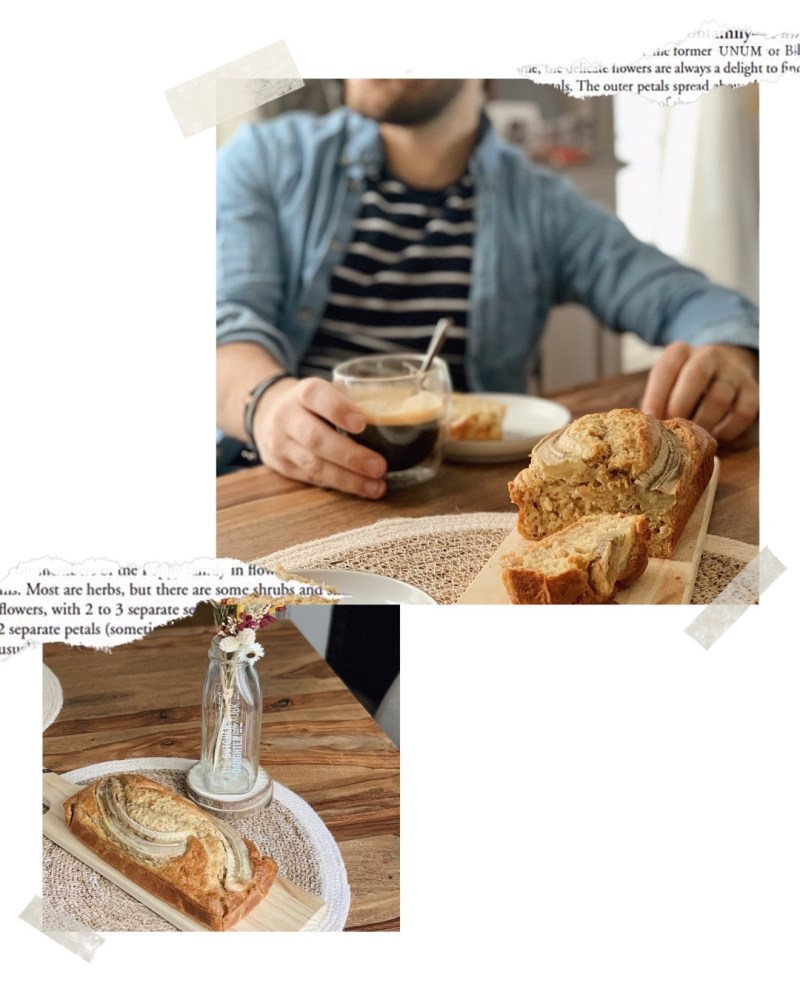 recette du banana bread rapide healthy