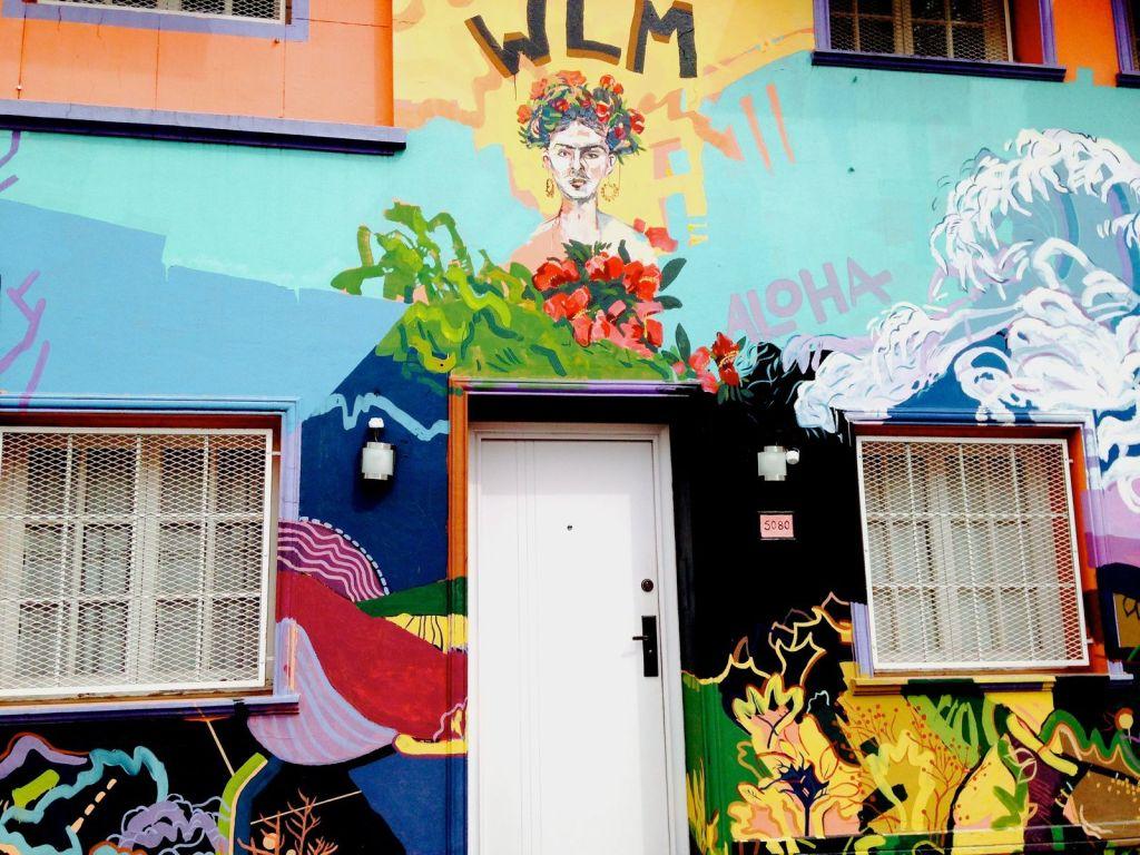 graffiti présents dans le quartier de Palermo Soho 13