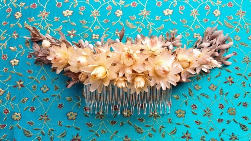 Peina de flores preservadas Edith