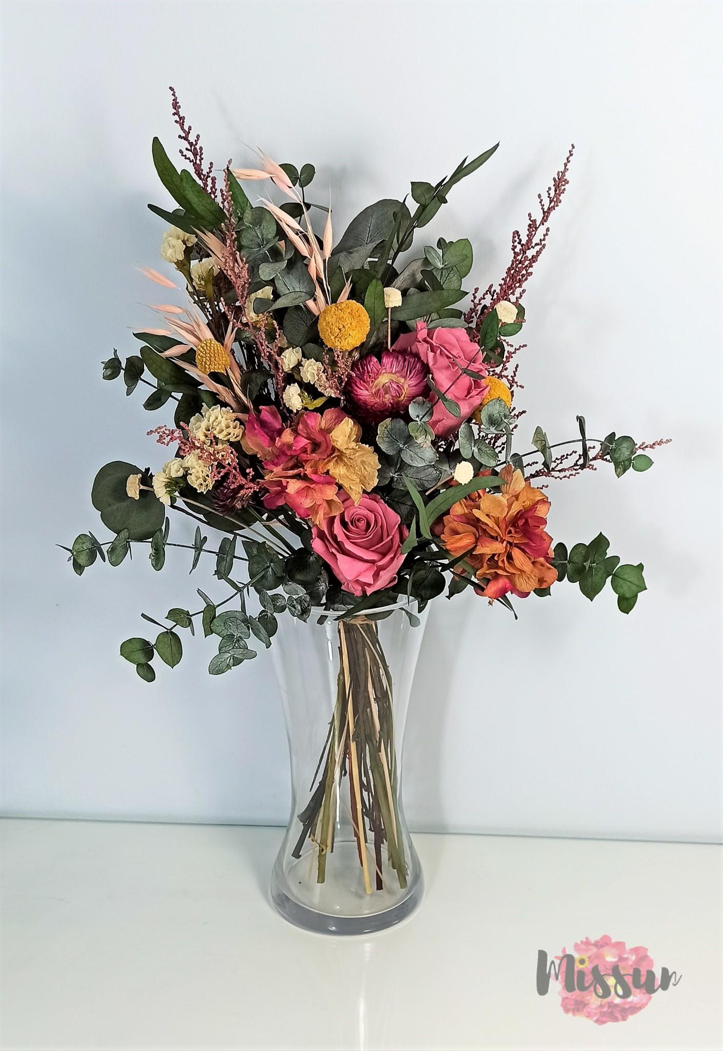 ramo flor natural preservada