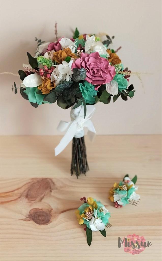 Peinecillo en flor preservada