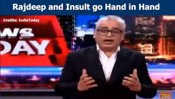 Rajdeep insult