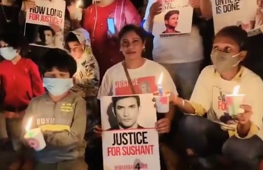 Justice for Sushant – we are united : Millions eyes looking at you Amit Shah