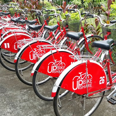 STUDENTS FROM UP DILIMAN LAUNCHES IN-CAMPUS BIKE SHARING