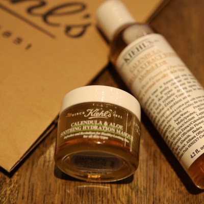 KIEHL'S CALENDULA LINE: SOOTHE SKIN WITH COOLING, INSTANT HYDRATION