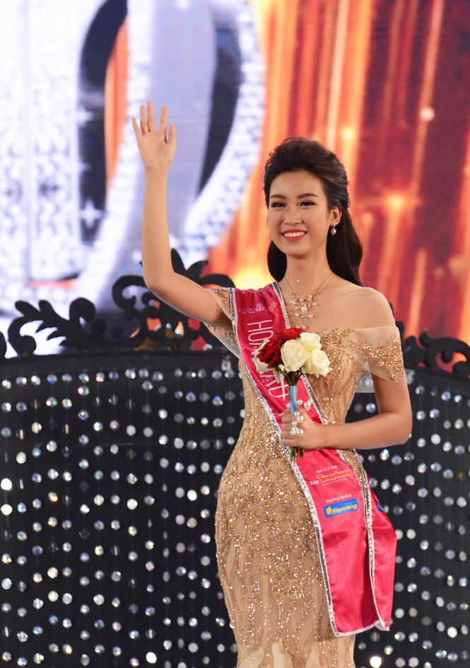Do My Linh Crowned 15th Miss Vietnam Pageant 2016