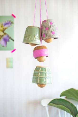 DIY CERAMIC BELLS