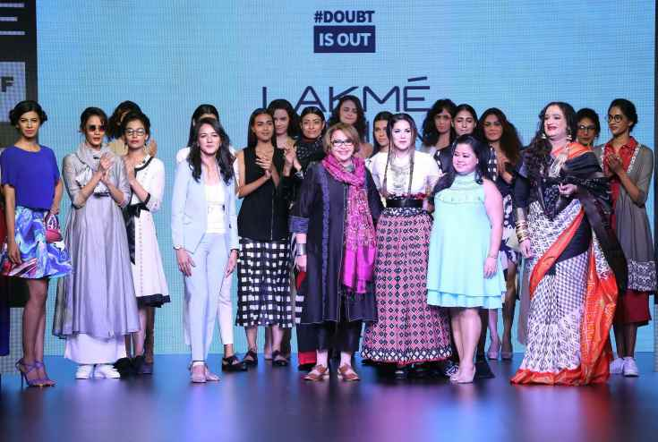 Breaking the odds at Lakme Fashion Week 2016 with #LYFSmartphones