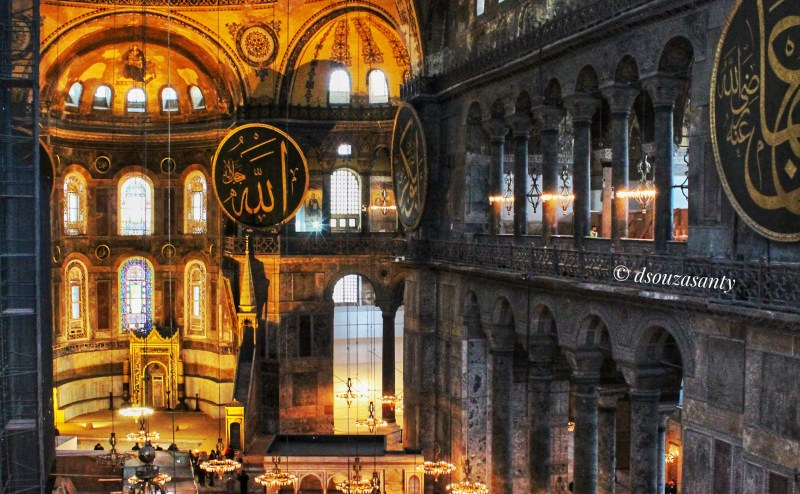 Istanbul Haghia Sophia Inside
