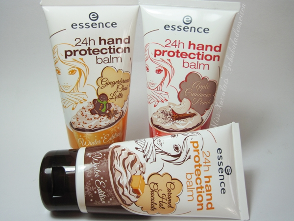 essence 24h hand protection balm Winter Edition Hot Winter Drinks