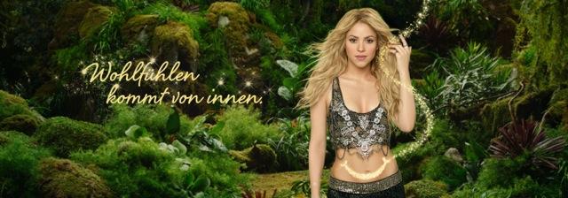 Shakira Danone Aktivia