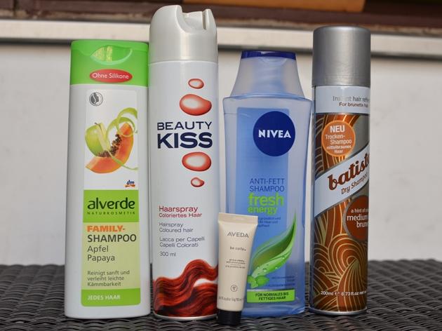 alverde Family Shampoo Beauty Kiss Haarspray NIVEA Anti-Fett Shampoo batiste Trockenshampoo Aveda Be curly