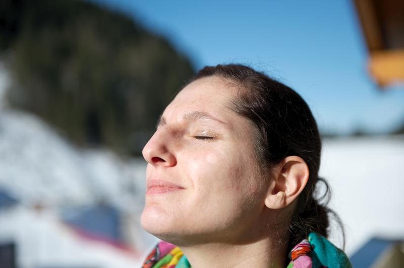 Zauchensee-Sonnenbaden