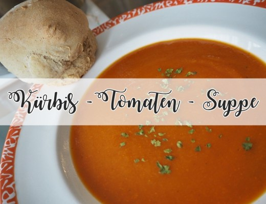 Kürbis-Tomaten-Suppe