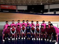 Training with the Girls Keirin Riders from the Japanese Keirin School