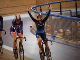 2013 UCI LA Grand Prix Keirin Champion