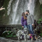 Wahkeena Falls Engagement |Kaylea and Angelo
