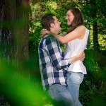 Portland International Rose Test Gardens   Engagement Shoot with Catherine and Adam