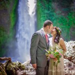 Wahclella Falls Elopement | Steve and Tricia