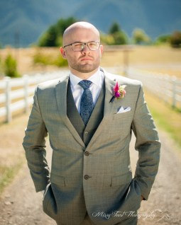 Joey preparing for his wedding at Wind Mountain Ranch