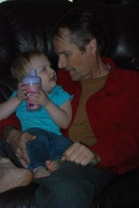 My Dad and my daughter