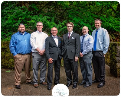 Multnomah Falls Wedding