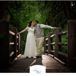 Silver Falls Park | Melissa and Ethan's Waterfall Wedding