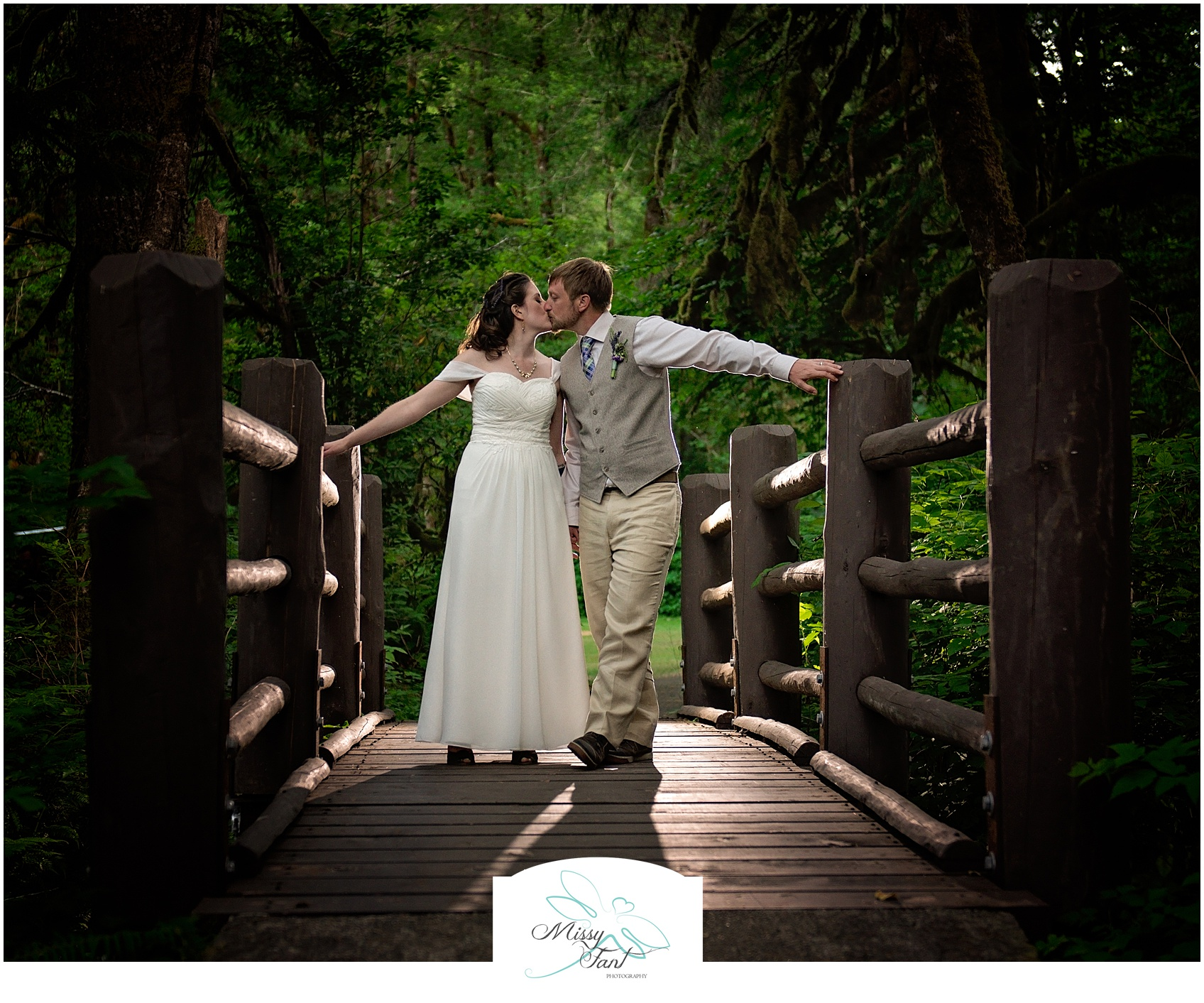 Silver Falls Park Wedding Photography
