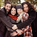 A Snowy Maternity Session  – Times Two | Holly & Jeff and Tahnee & Jacob