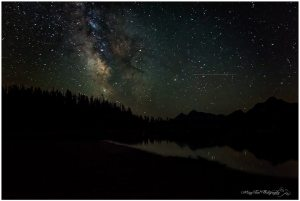 Milky Way above Jackson Lake, WY
