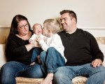 Welcome Margaret! - The Whites Family Session in Studio