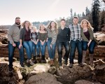 The Marshall's Family Portrait Session in West Linn, OR