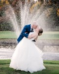 Stephanie and Ty's Gorgeous Summer Wedding at the Aerie.