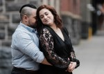 Rachel and Kyle's Engagement Session in Downtown Portland.