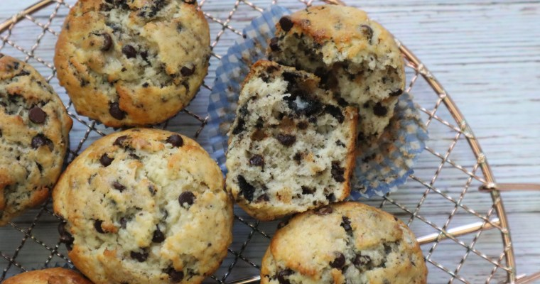 Oreo Chocolate Chip Banana Muffins
