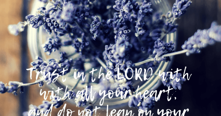 Trusting God with Our Pain in Grief