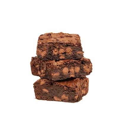 stack of original brownies