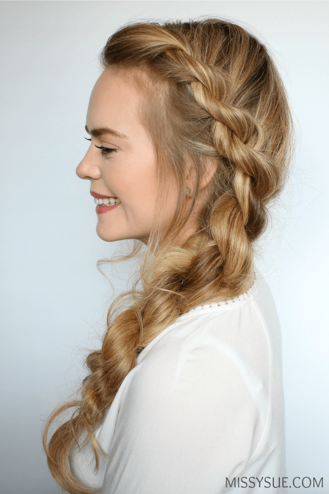 3 Easy Twisted Hairstyles MISSY SUE