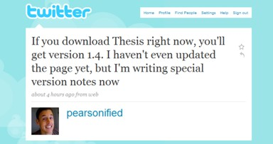 Thesis 1.4 for WordPress Launches