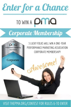 Performance Marketing Association Sweepstakes