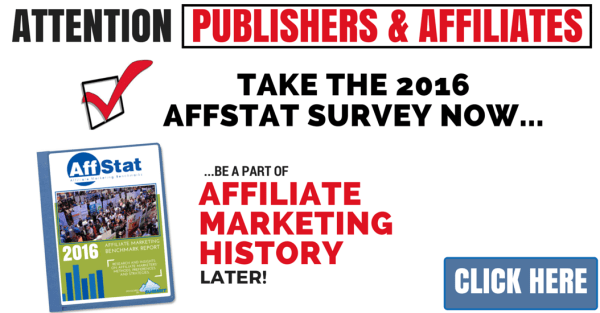 2016 AffStat Affiliate Marketing Survey (1)