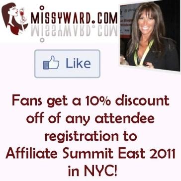 Fan Missy Ward on Facebook