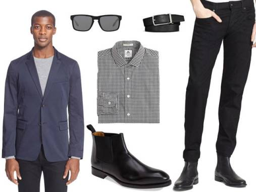 Image result for chelsea boots for Business Casual Attire
