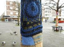 yarn bombing at leyweg 1