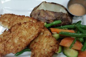 mister c's flounder almondine jersey shore restaurant