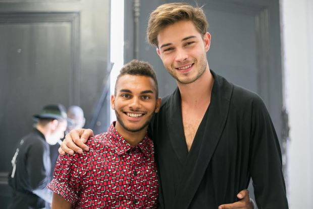 backstage-agnès-b-fashion-show-ss16-menswear-paris-fashion-week-blogueur-homme-bordeaux-paris-fashion-blogger-mrfoures-francisco-lachowski-chico-lachowski-success-paris-agency