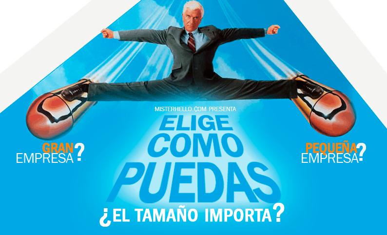 XCII   ¿EL TAMAÑO IMPORTA! ¡DE VERDAD?