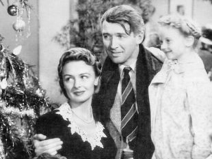 Everyman George Bailey in It's a Wonderful Life (public domain)